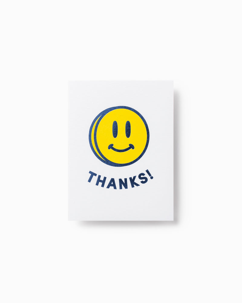 Mini Smiley Greeting Card