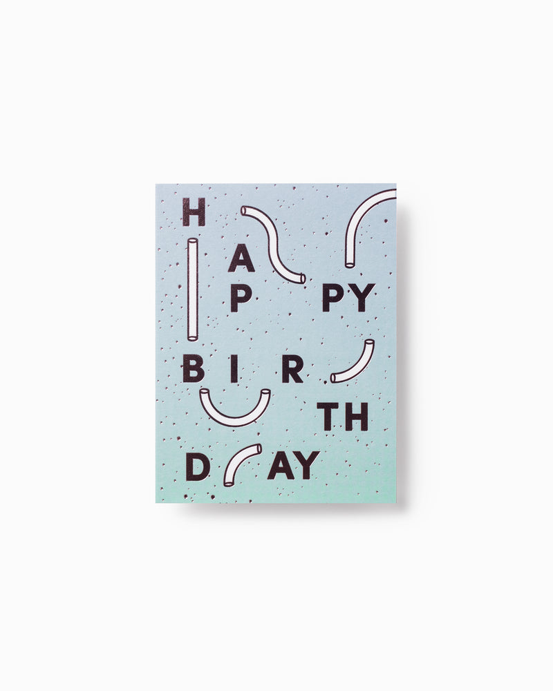 Mini Happy Birthday Greeting Card