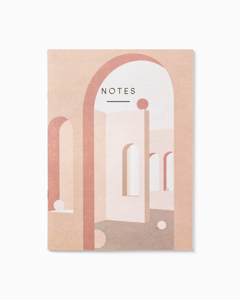 Terracotta Arches Notebook A5