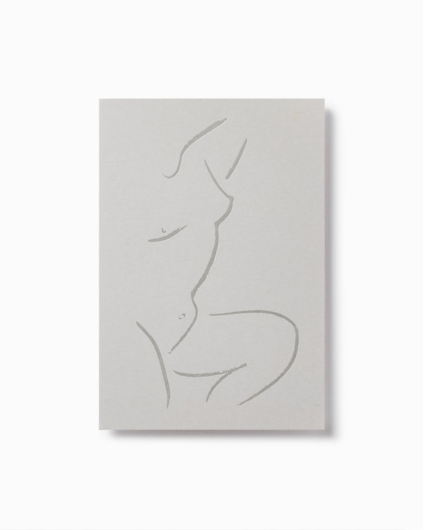 Venus Letterpress Greeting Card