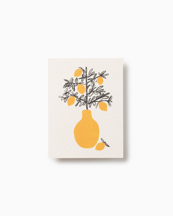 Lemon Tree Greeting Card