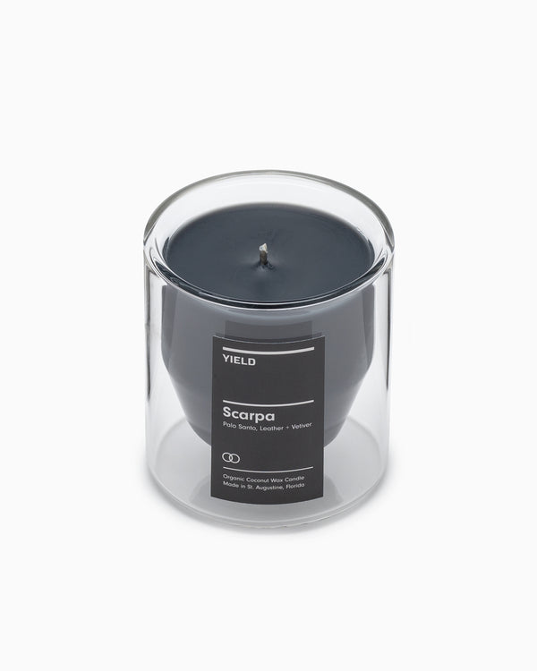 Yield - Scarpa Double Walled Glass Candle