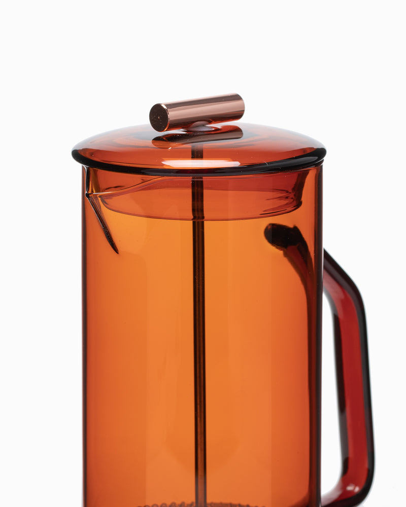 Yield - Amber Glass French Press