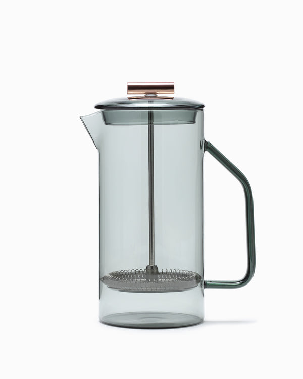Yield - Gray Glass French Press
