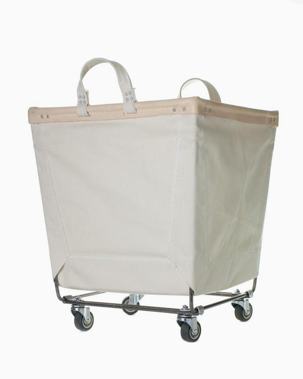 Canvas Laundry Cart - Natural