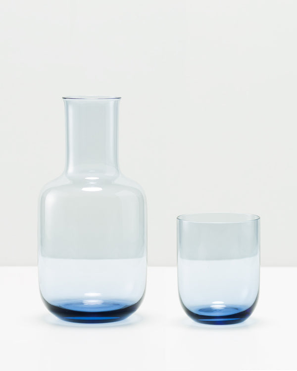 Night Carafe - Blue Crystal