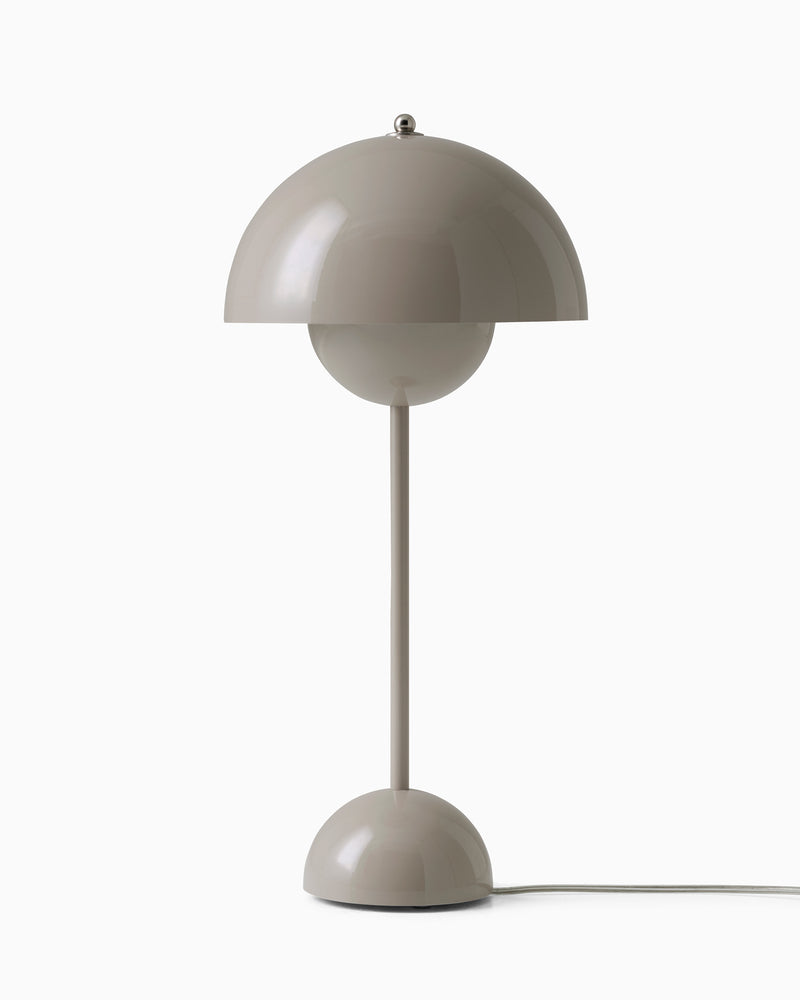 Flowerpot VP3 Table Lamp - Beige Grey