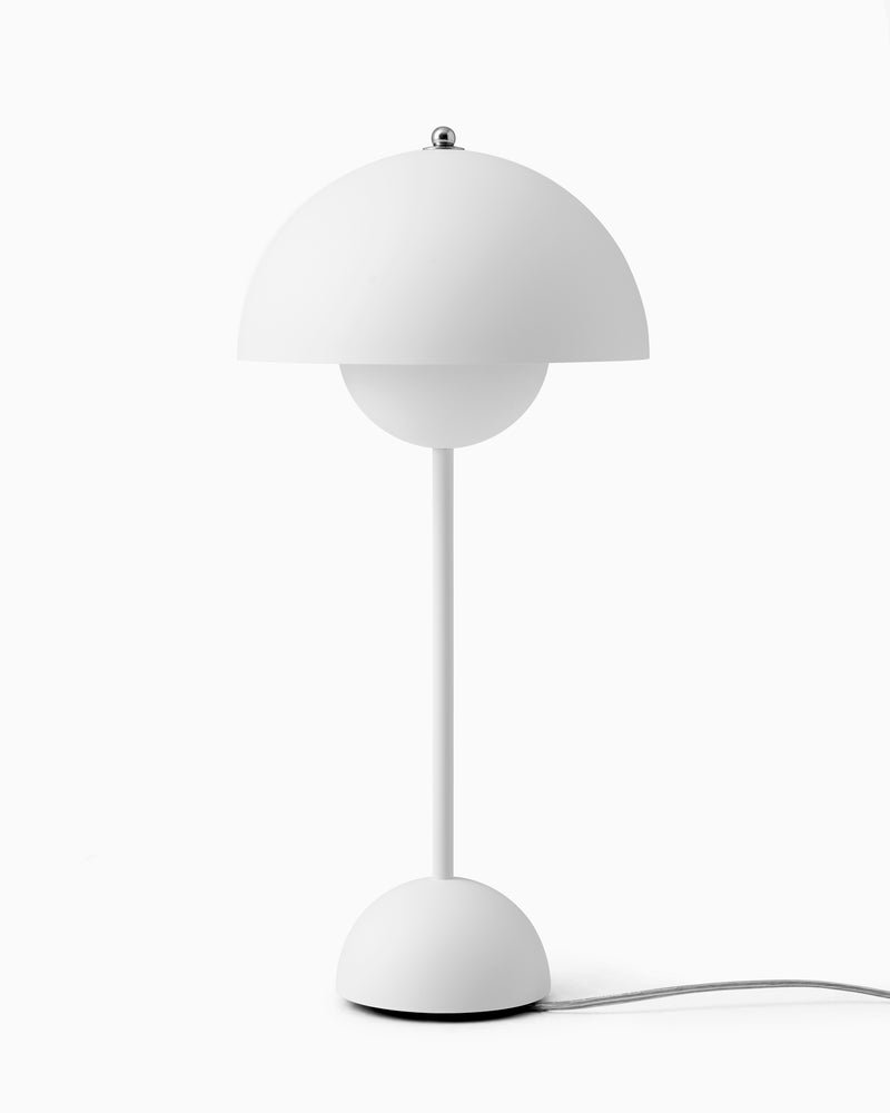 Flowerpot VP3 Table Lamp - Matte White