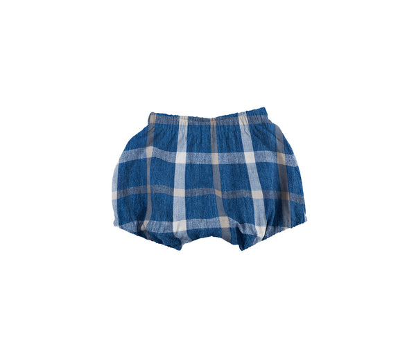 Baby Bloomer (Navy Check)