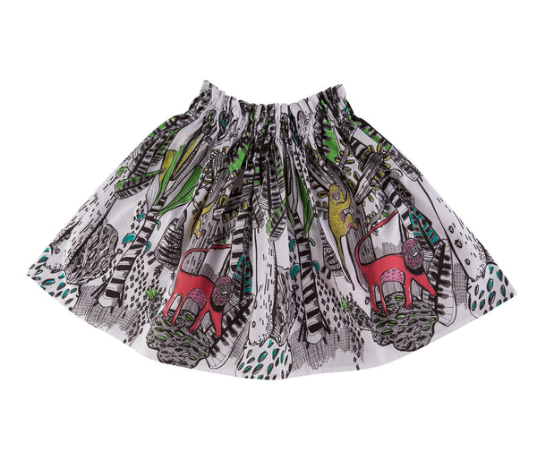 Paper Bag Skirt (Sonora Print)