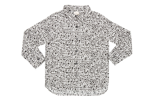 L/S Printed Shirt-Nothing There