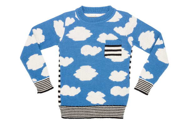 Cloud Sweater - Sky Blue