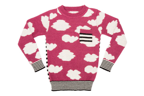 Cloud Sweater - Winter Berry