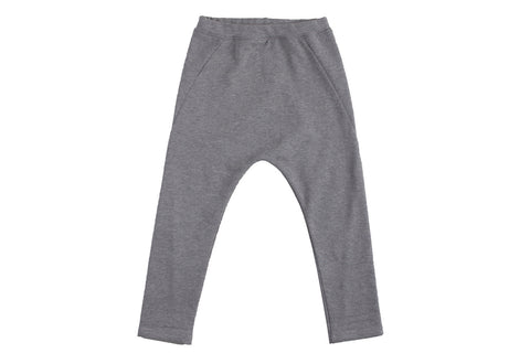Drop Pants-Charcoal Heather