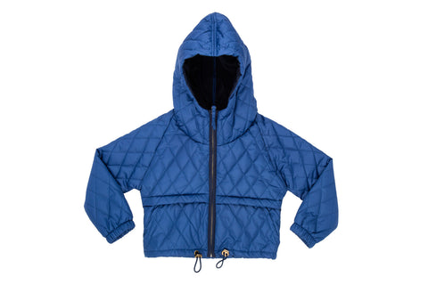 Quilted Jacket-Blue Sky