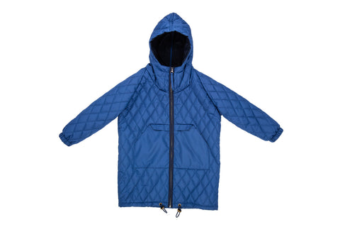 Quilted Anorak-Blue Sky