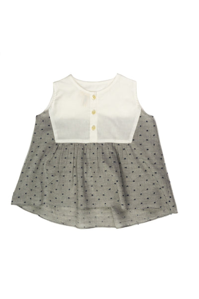 Clip Dot Sleeveless Top