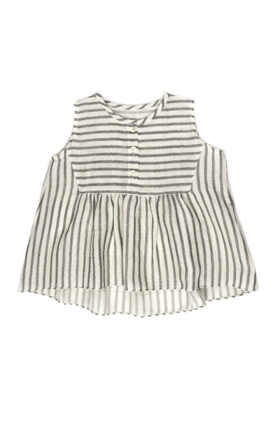 Dbl Gauze Stripe Sleeveless