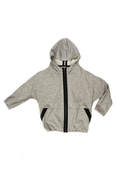 French Terry Hoodie Jacket