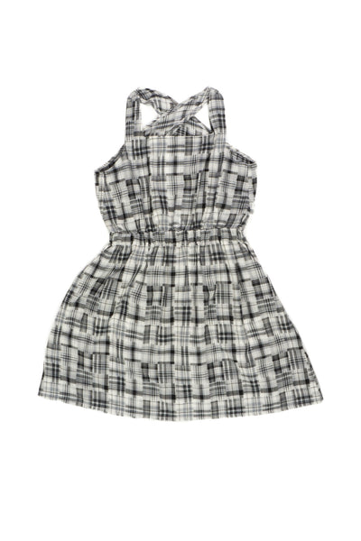 Madras Check Crossback Dress