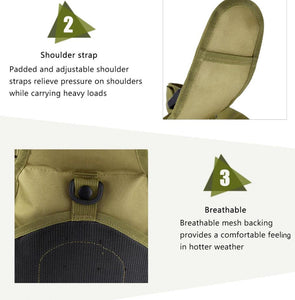 Premium Shoulder Strapped Camping Backpack