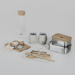 Bento, Bottle, Board, Knife and Tumbler Set