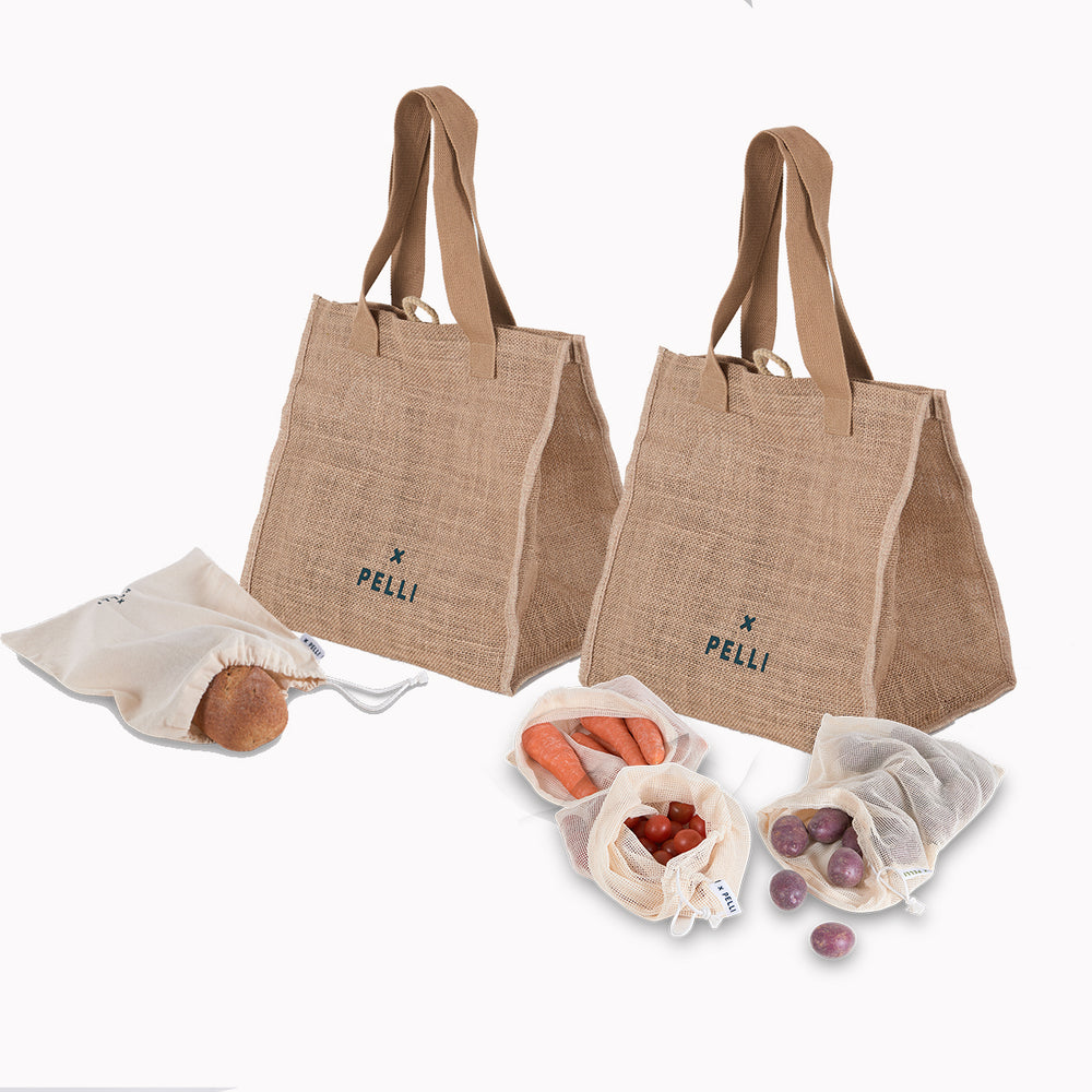 'Roll-with-It' Fold-Away Compact Shopping Bundle