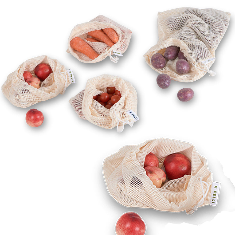 netted produce bags