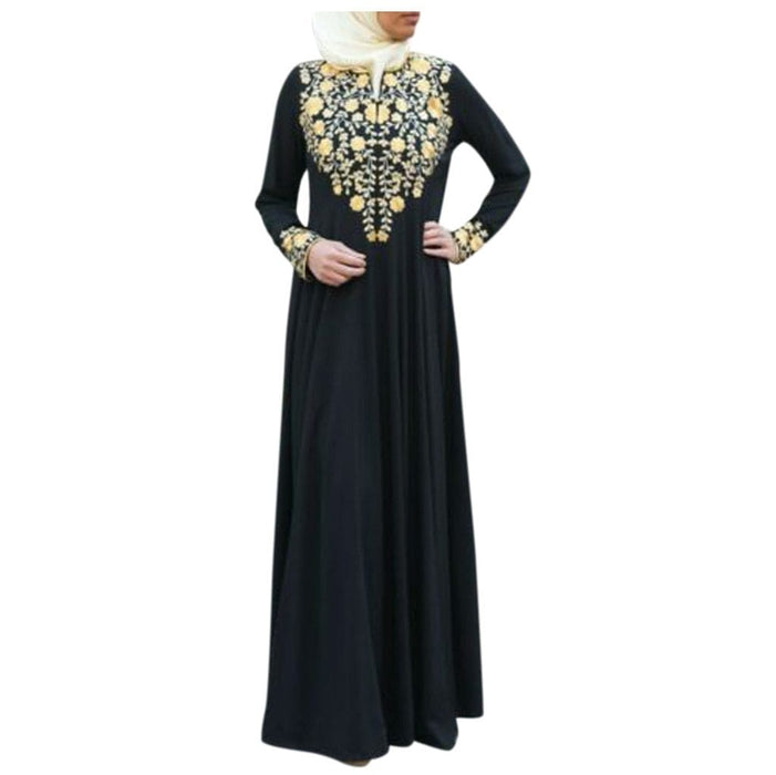 Femme Musulman Pakistan Muslim Women Muslim Maxi Long Dress Dubai Aba Meetmyshop Mms4