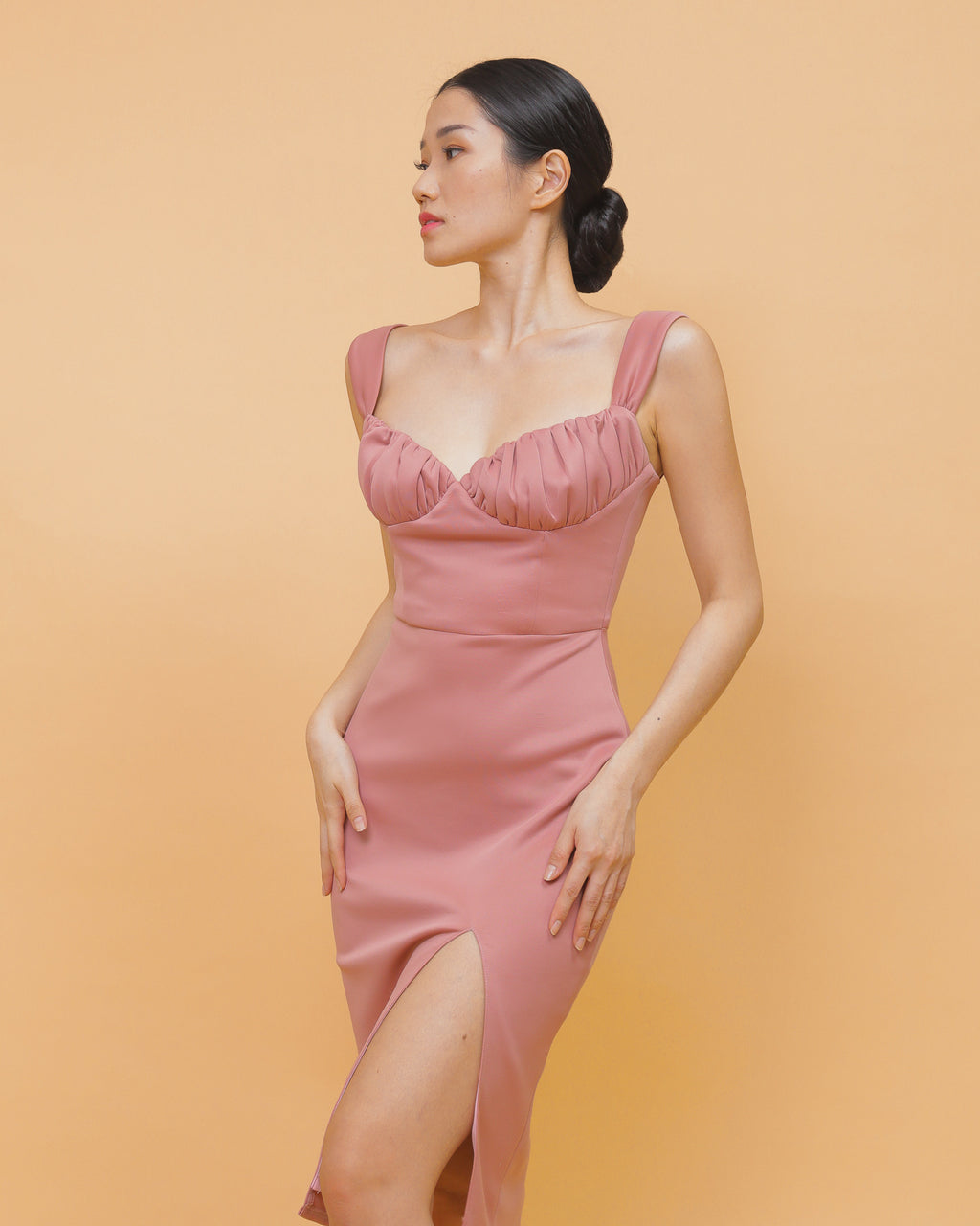 GISELLE in Blush Pink: waste prevention