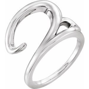 Sterling Silver Ladies Ring - Siddiqui Jewelers