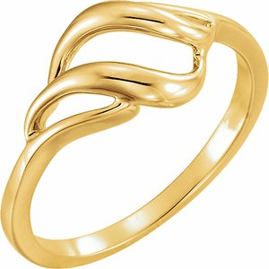 10K Yellow Metal Ring - Siddiqui Jewelers