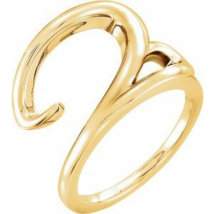 14K Yellow Ladies Ring - Siddiqui Jewelers