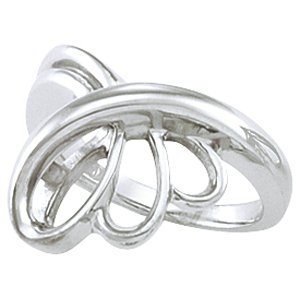 Sterling Silver Metal Fashion Ring - Siddiqui Jewelers