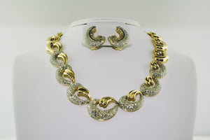 Diamond Necklace in 18k Two-tone Gold - Siddiqui Jewelers
