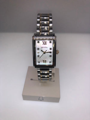 Bulova Women's Watch with Diamond - Siddiqui Jewelers