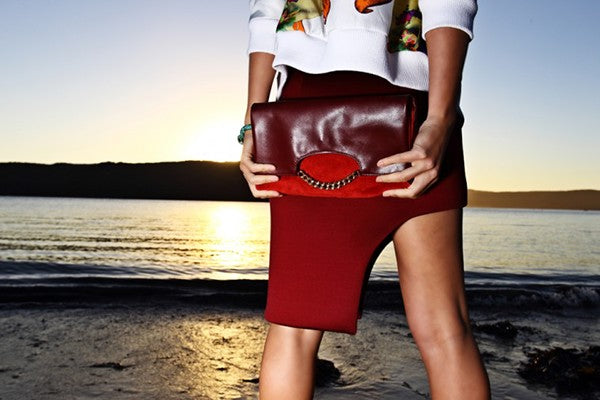 Tales of Endearment feature on Brenda Briand designer and director of Benah fashion brand dedicated to the creation of luxurious hand-finished handbags and accessories Online destination shop the latest signature Karen Walker leather goods