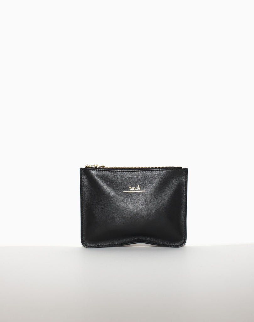 MEDIUM ZIP POUCH | Bronze Croc-sample-sale
