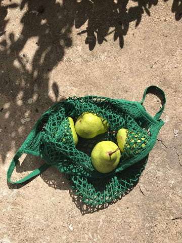 FRENCH STYLE STRING BAG | Forest