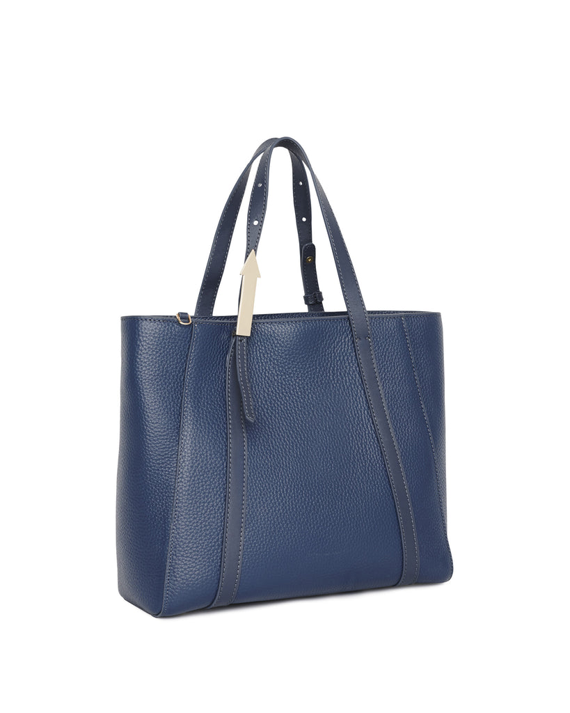 ARROW TOTE- NAVY