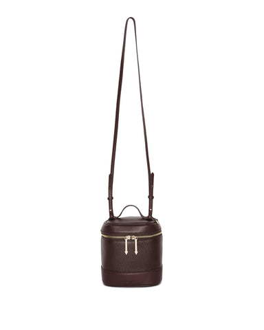 BRITT CROSS BODY - OXBLOOD