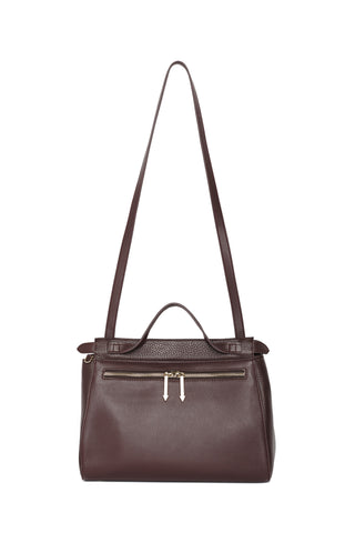 CHLOE SATCHEL - OXBLOOD