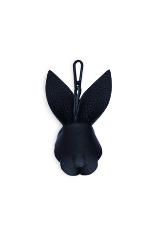 BUNNY SMALL LEATHER CHARM - MIDNIGHT