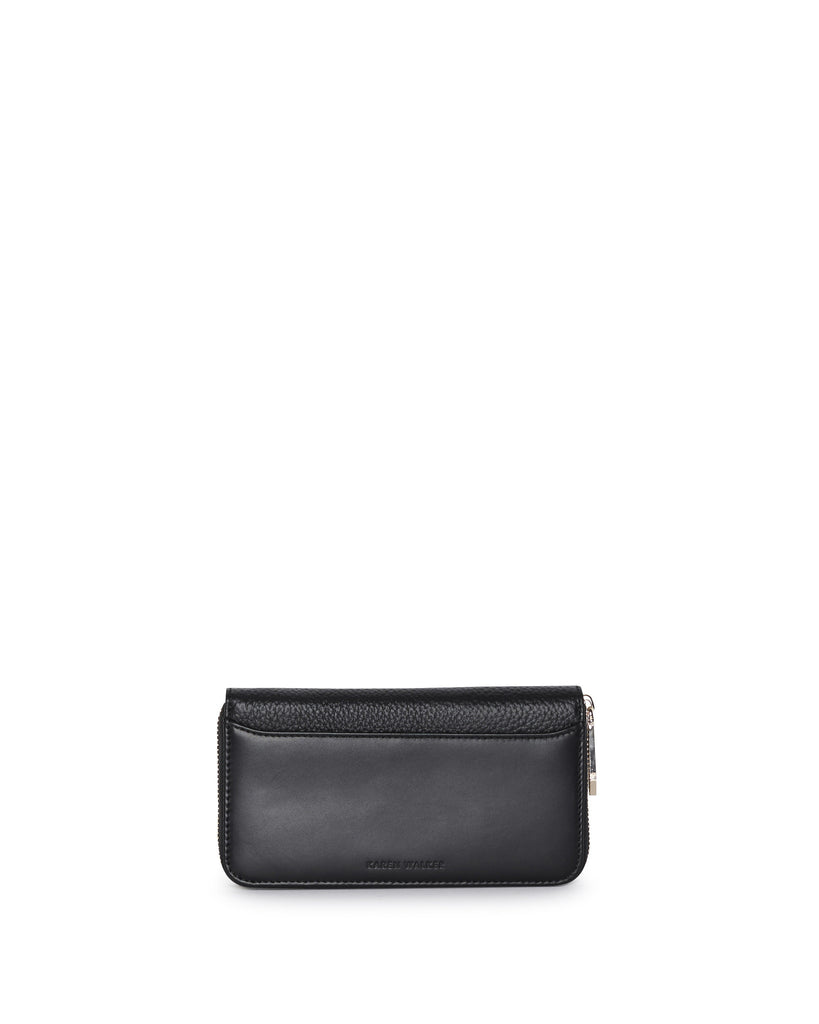 DEE CONTINENTAL WALLET - BLACK