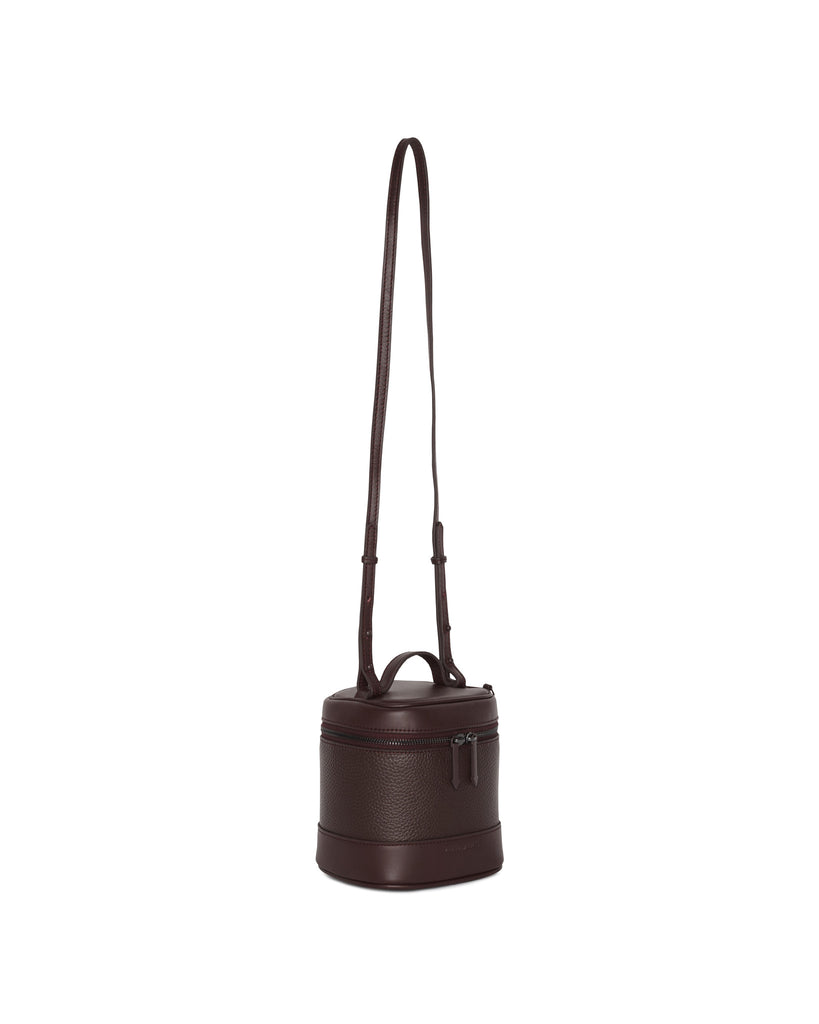 BRITT CROSS BODY - MATTE OXBLOOD