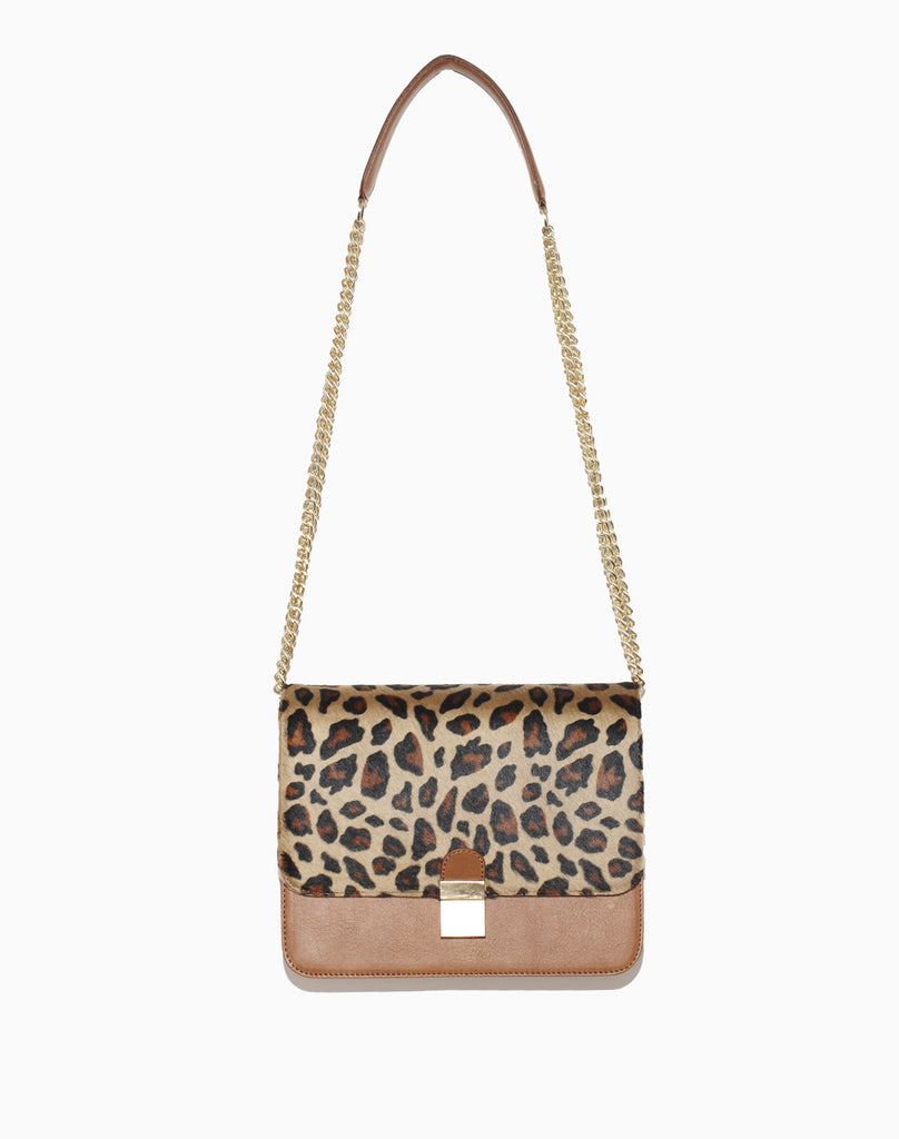 TARA SHOULDER BAG WITH CHAIN STRAP