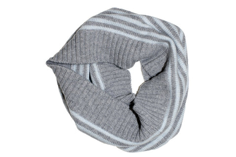 PURE CASHMERE SNOOD | Marle Stripe