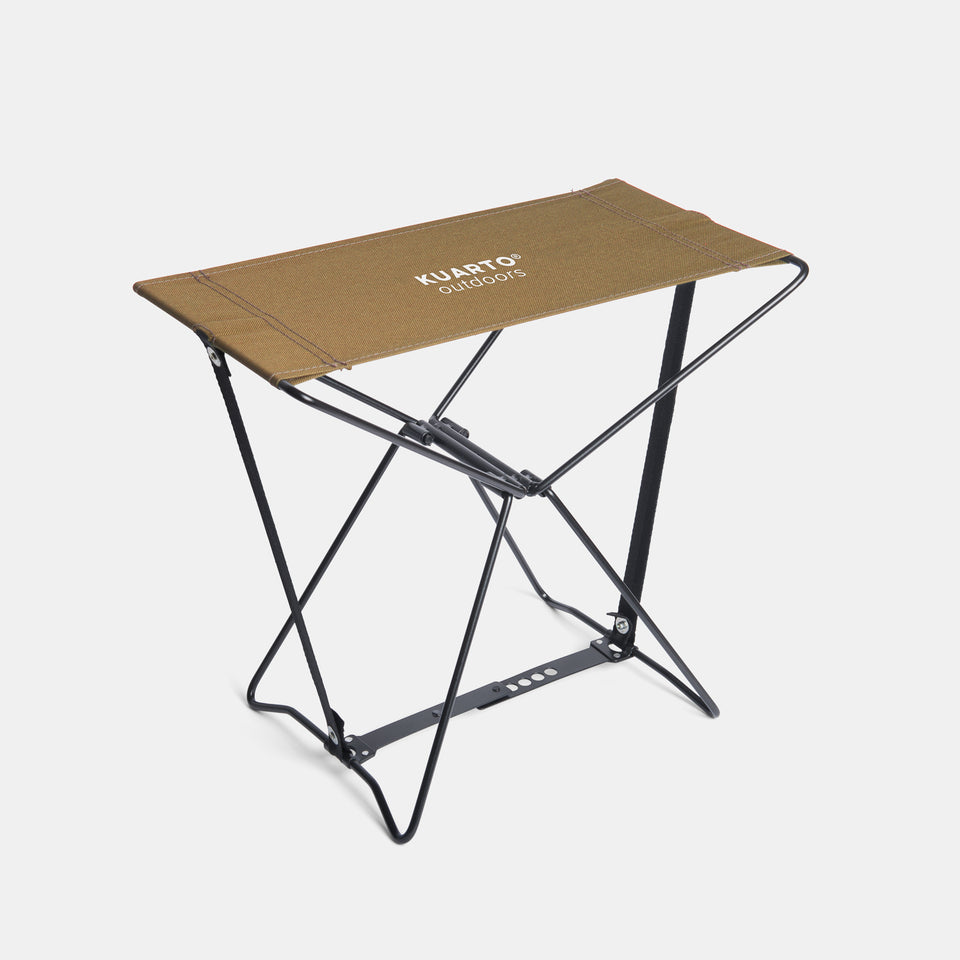 KUARTO Camp Stool Brown