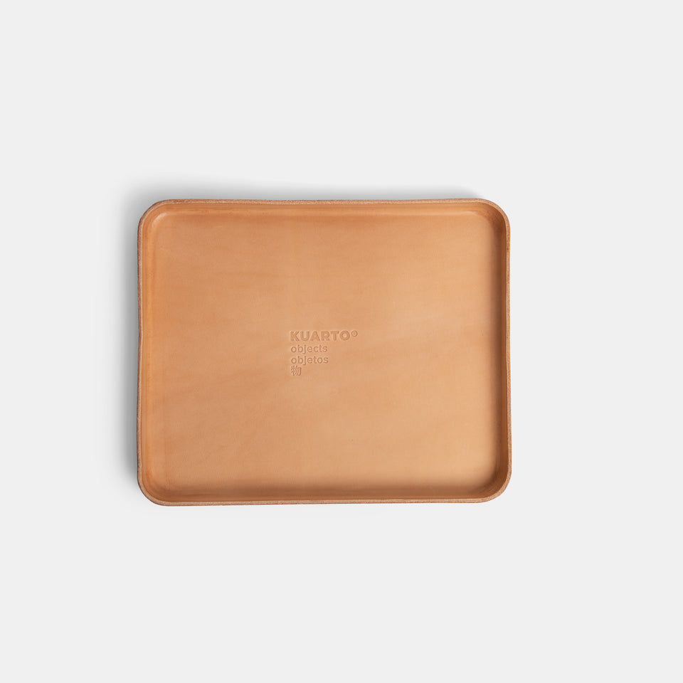 KUARTO Leather Valet Tray