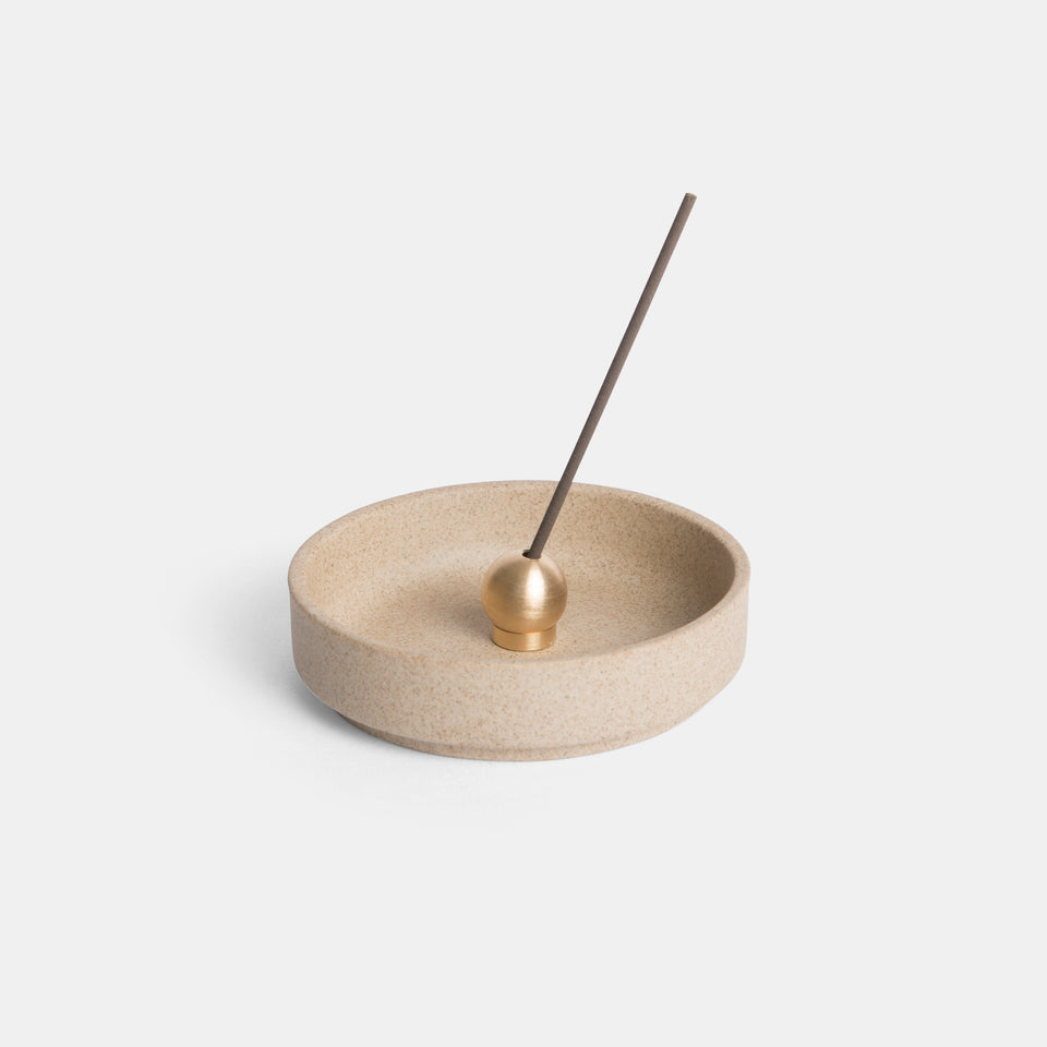 Brass Ball Incense Holder Natural
